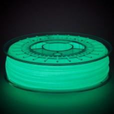 Пластик GlowFill светящийся в темноте для 3d принтеров, 750 г.